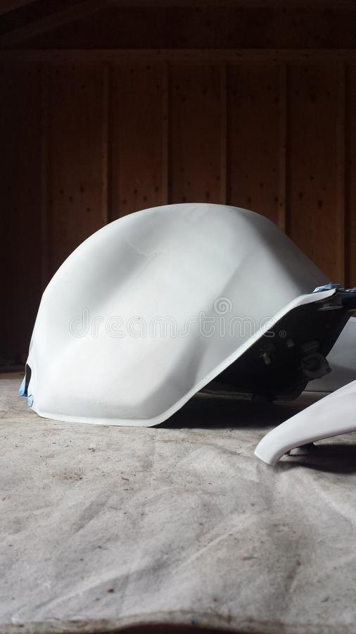 Primed gas tank royalty free stock photos