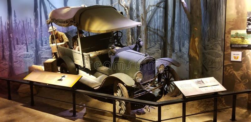 Primeira Guerra Mundial Marine Corps Truck foto de stock royalty free