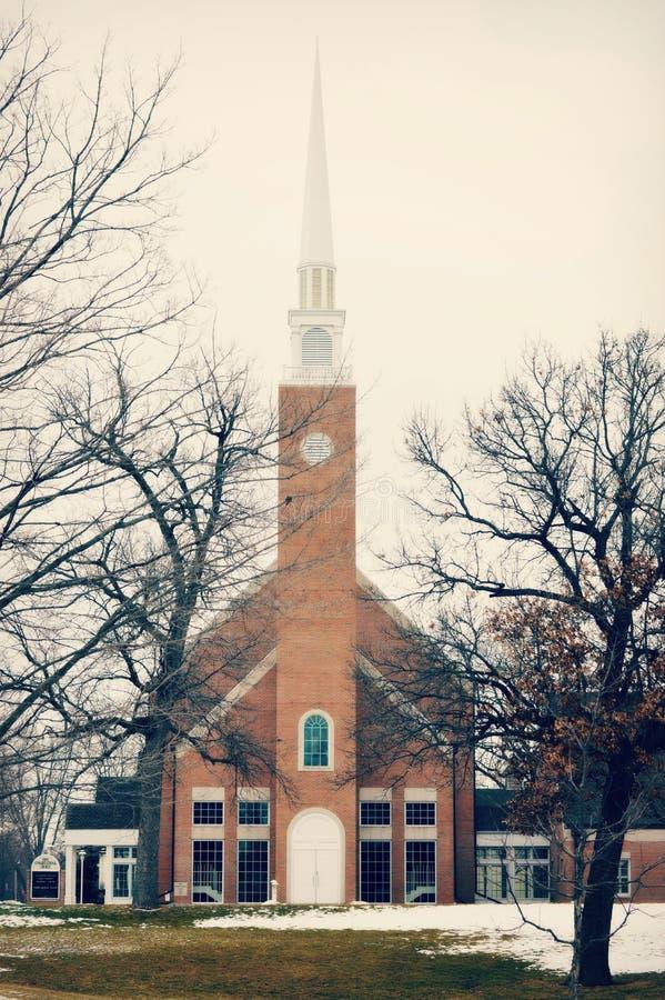 Primeira Igreja Congregacional fotografia de stock