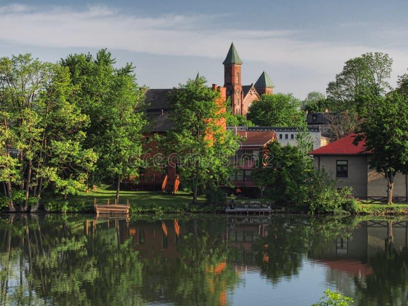 Primeira igreja presbiteriana fotografia de stock royalty free