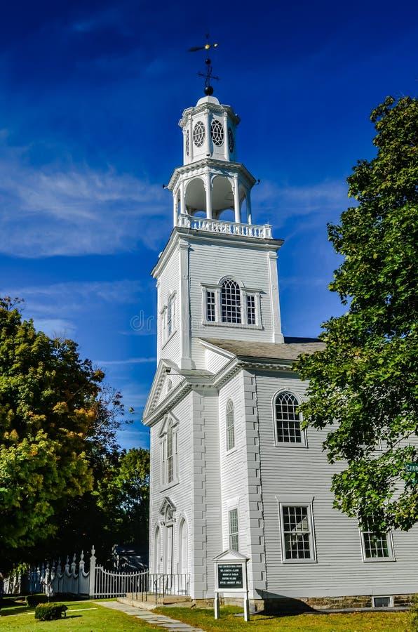 Primeira igreja velha foto de stock royalty free