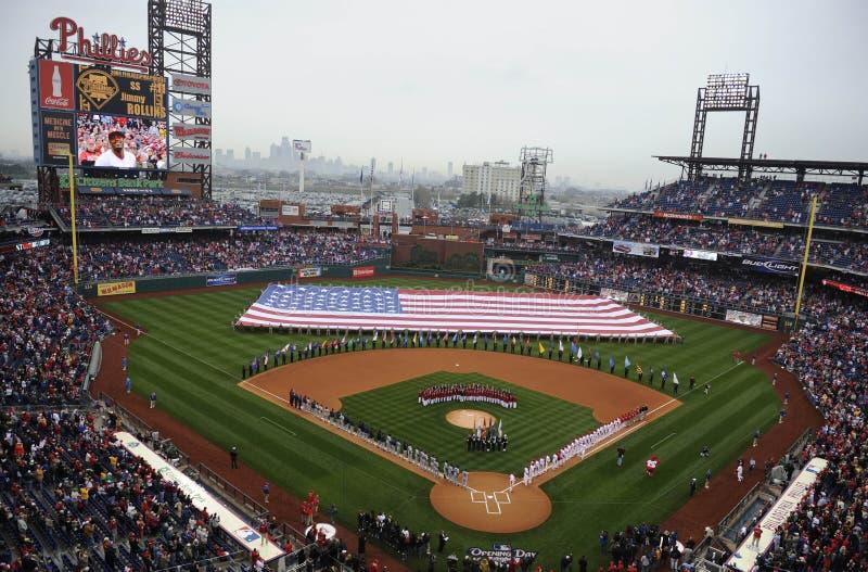 Primeira jornada de Phillies foto de stock royalty free