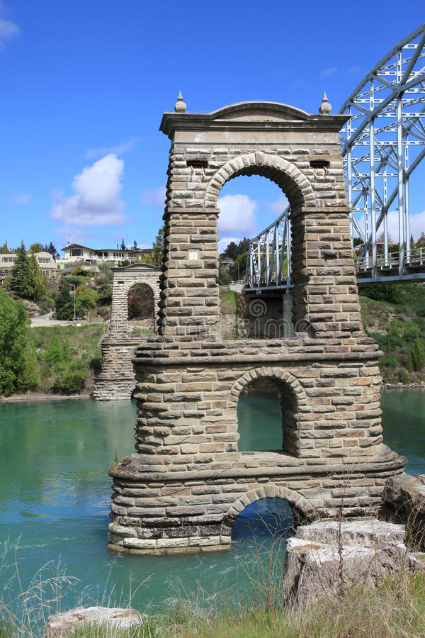 A primeira ponte de Alexandra imagens de stock royalty free