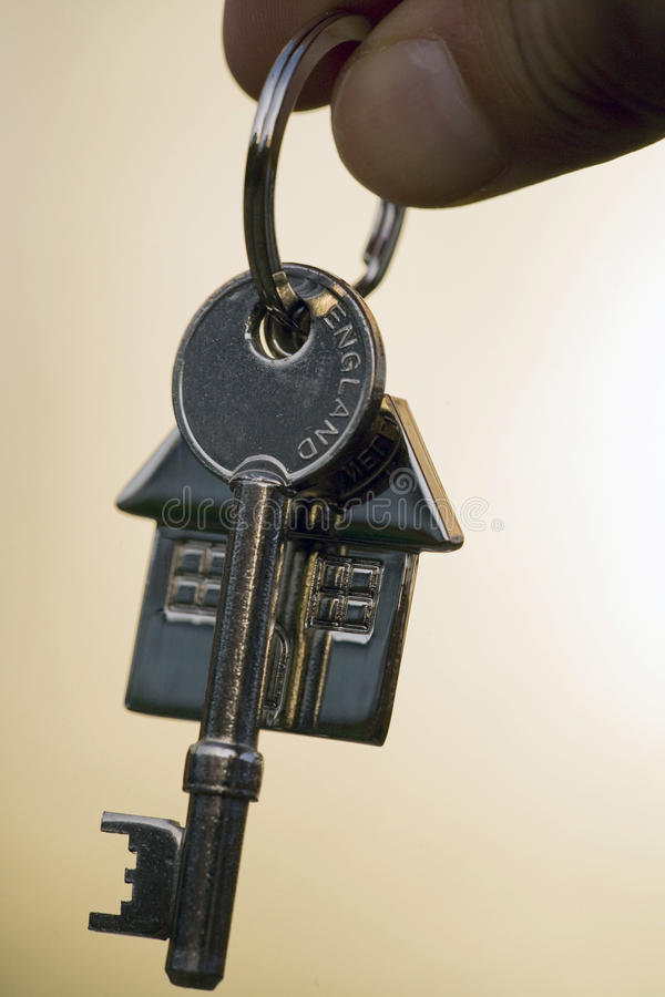 Primeiras chaves da casa fotografia de stock royalty free