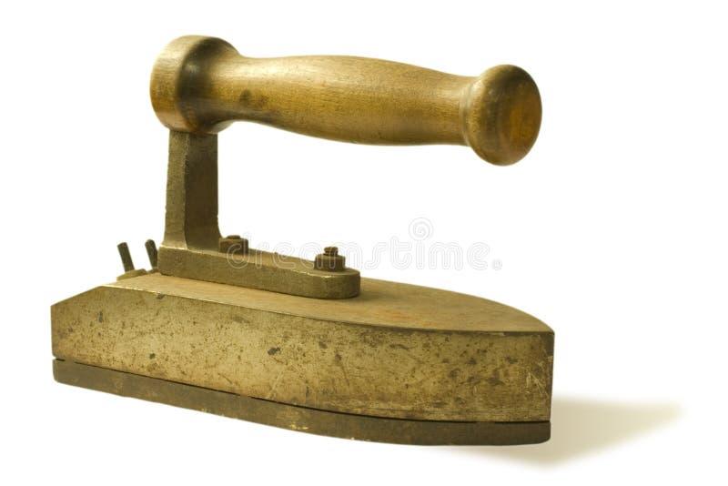 Primeiro alisar-ferro velho elétrico da forma fotos de stock royalty free