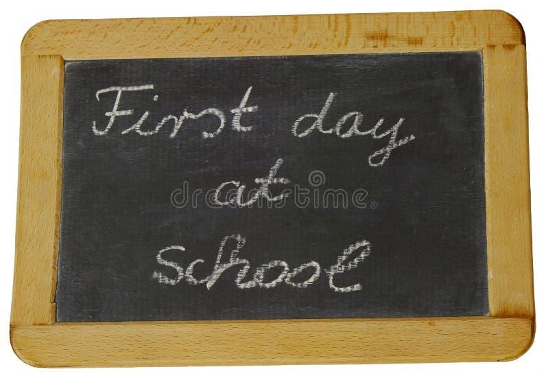 Primeiro dia da escola fotos de stock royalty free