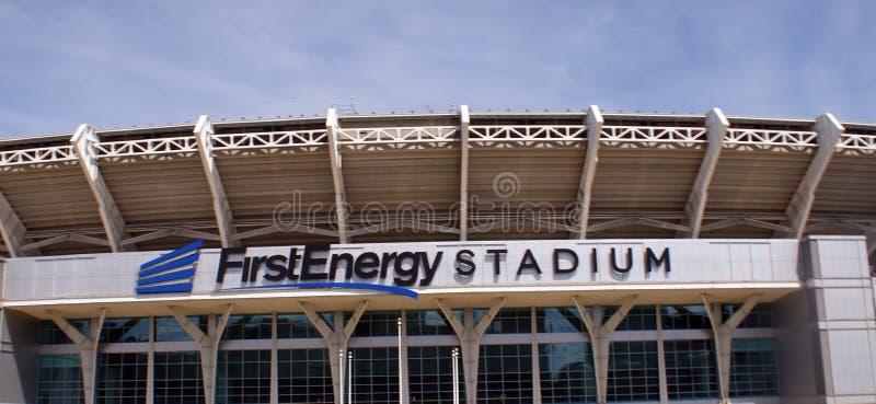 Primeiro estádio da energia imagem de stock royalty free