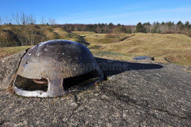 Primeiro forte Douaumont da guerra de mundo imagens de stock royalty free