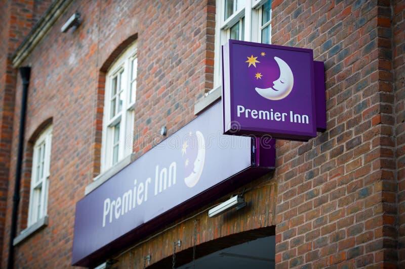 Primeiro hotel da pensão em Londres, Reino Unido imagens de stock