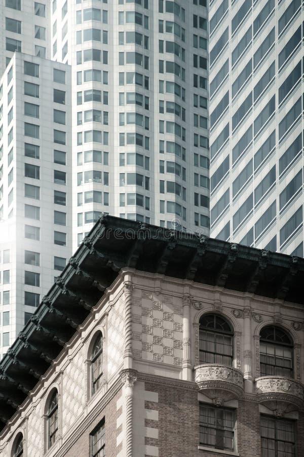 Primeiro plano pequeno do edifício fotos de stock royalty free