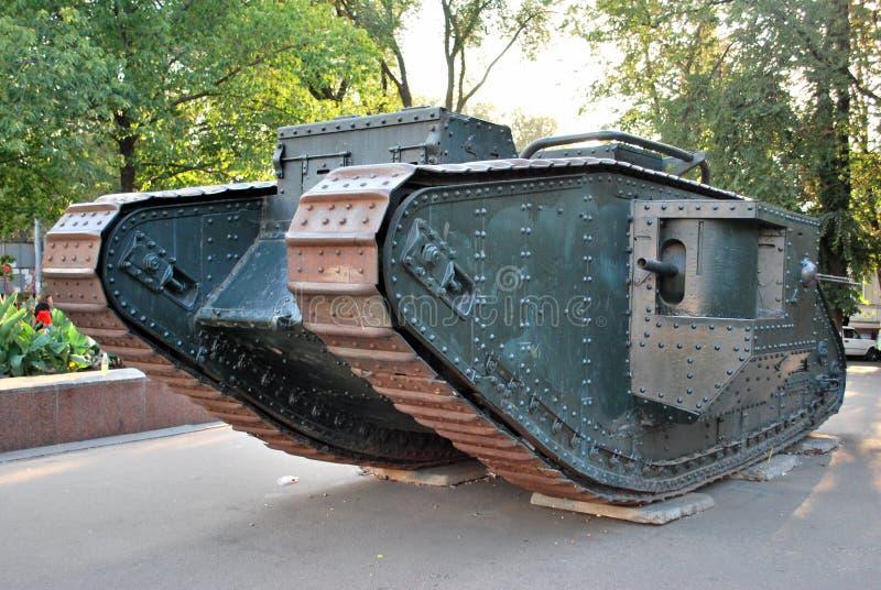 Primeiro tanque fotos de stock