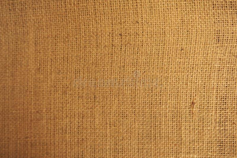 Primer abstracto de la vieja textura de la pared de la arpillera fotografía de archivo libre de regalías
