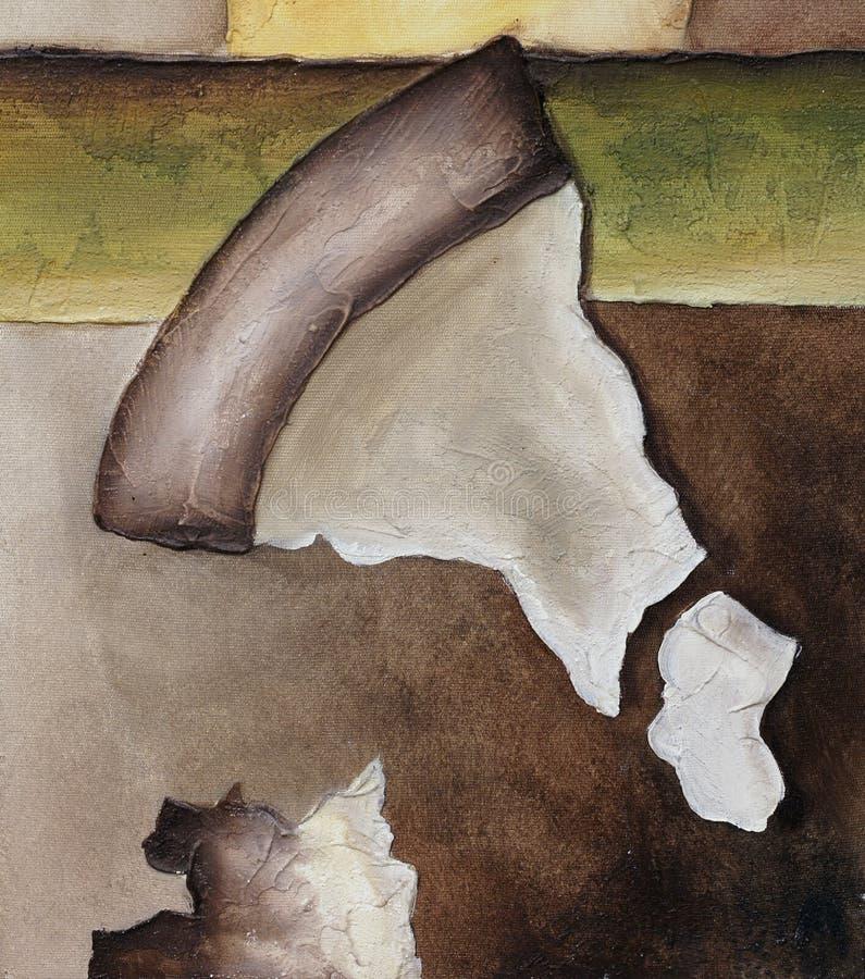Primer abstracto de pintura libre illustration