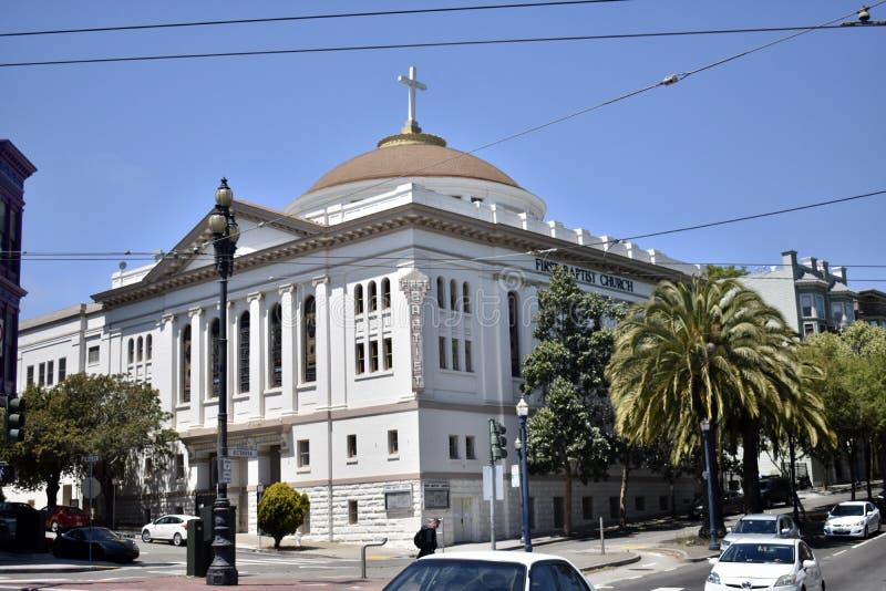 Primer Baptist Church San Francisco foto de archivo libre de regalías