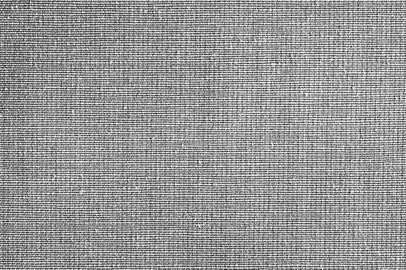 Primer blanco y negro, textura gris de la tela del color Línea de tira diseño gris del modelo de la tela o fondo abstracto de la  fotografía de archivo libre de regalías