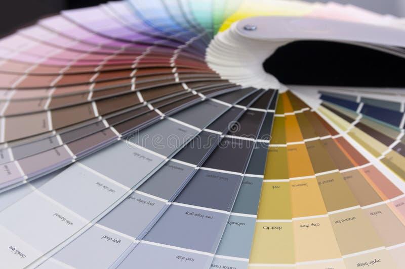 Primer colorido de la gradación de color de la malla imagen de archivo