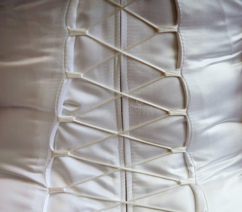 Primer - cordón del corsé foto de archivo