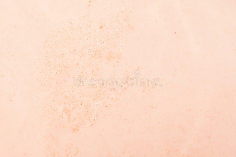 Primer cremoso de la textura de la espuma del café fotos de archivo libres de regalías