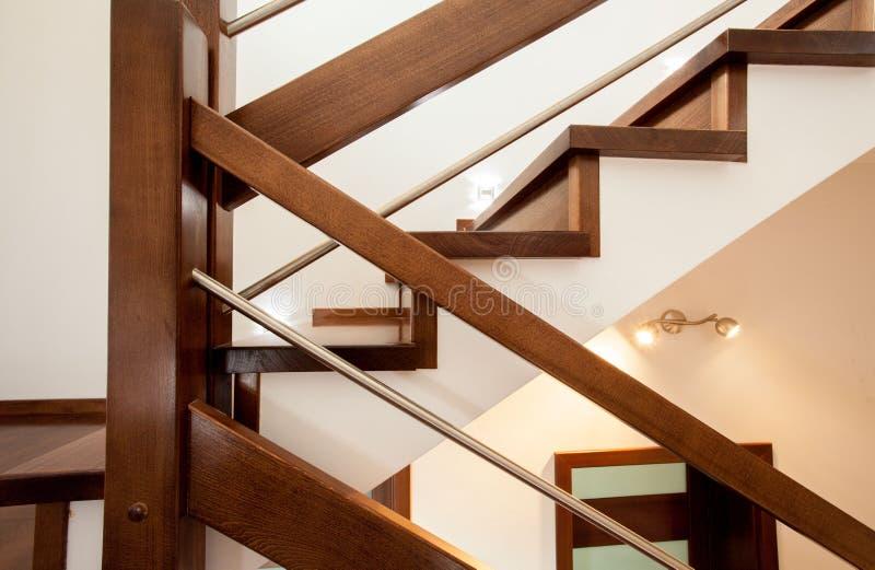 Primer de escaleras imagen de archivo