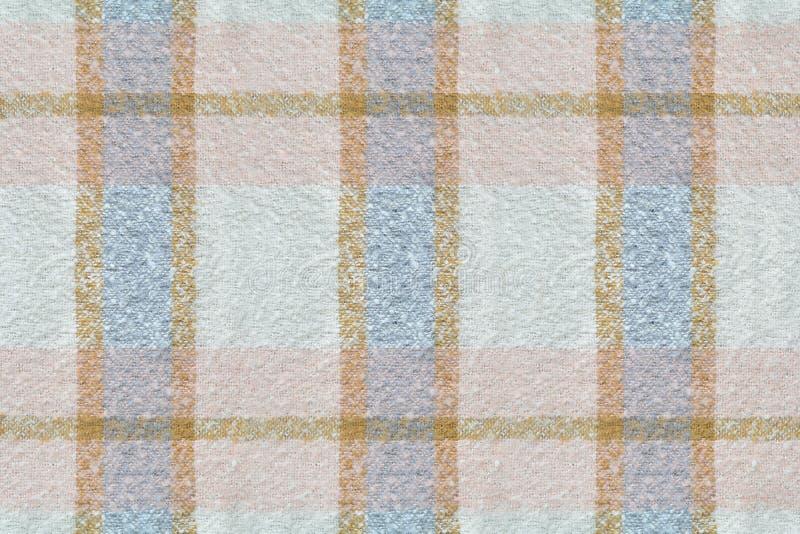 Primer de la bufanda de las lanas imagenes de archivo