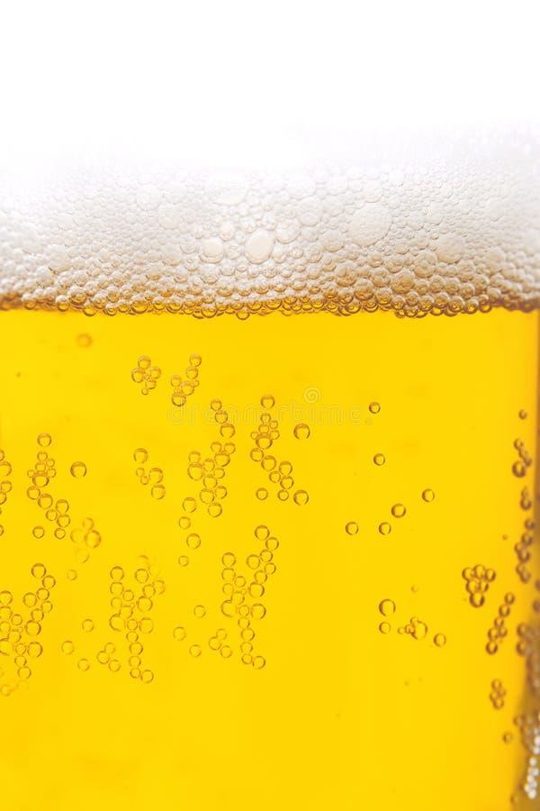 Primer de la cerveza fotos de archivo libres de regalías