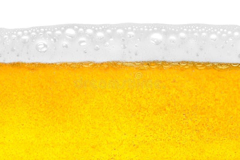 Primer de la cerveza fotografía de archivo