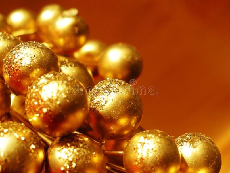 Primer de la decoración de la Navidad imagen de archivo libre de regalías
