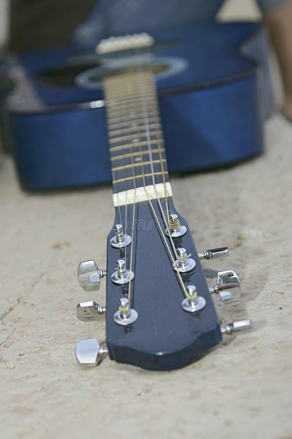 Primer de la guitarra imagen de archivo libre de regalías