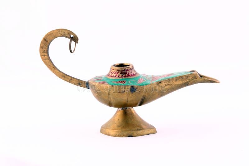 Primer de la lámpara de Oriente Medio vieja del estilo fotografía de archivo