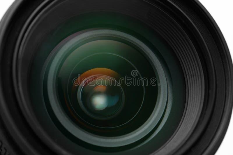 Primer de la lente de cámara de la foto fotos de archivo