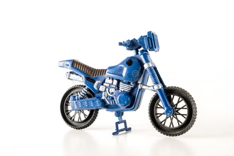 Primer de la motocicleta de la moto del juguete imagen de archivo libre de regalías