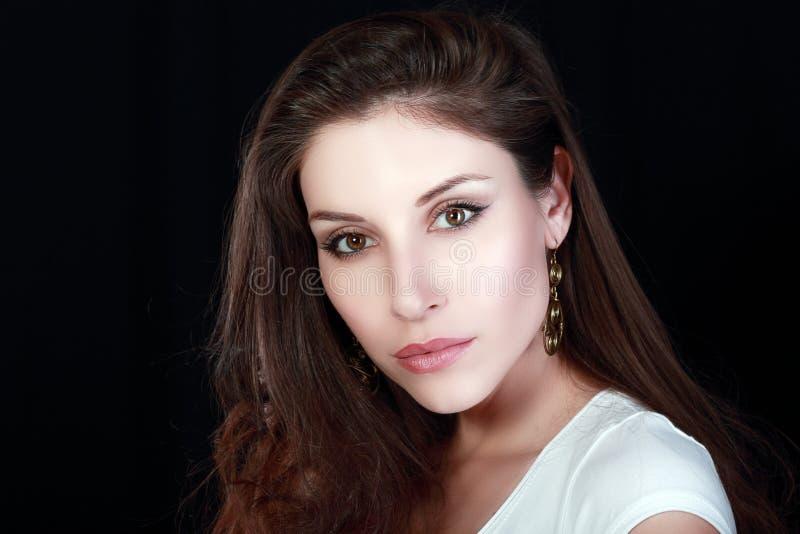 Primer de la mujer joven fotos de archivo