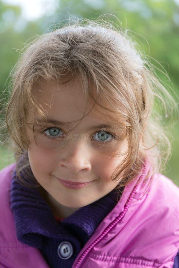 Primer de la niña foto de archivo libre de regalías