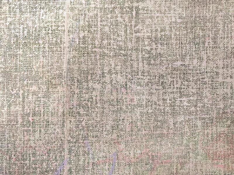 Primer de la paleta de la pintura, pintura de la textura con los creyones multicolores imagen de archivo libre de regalías