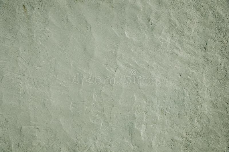 Primer de la pared cubierto por el yeso blanco imagen de archivo
