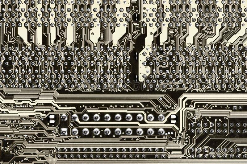 Primer de la placa de circuito imagenes de archivo