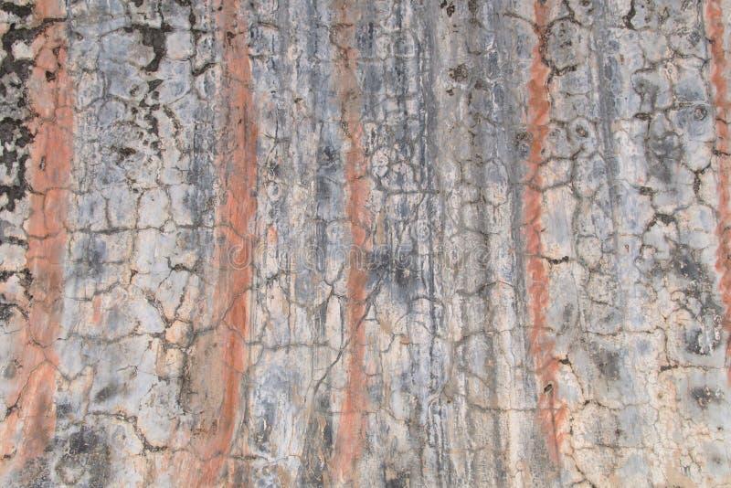 primer de la superficie de la pared vieja del cemento, vieja textura del wallpa imágenes de archivo libres de regalías