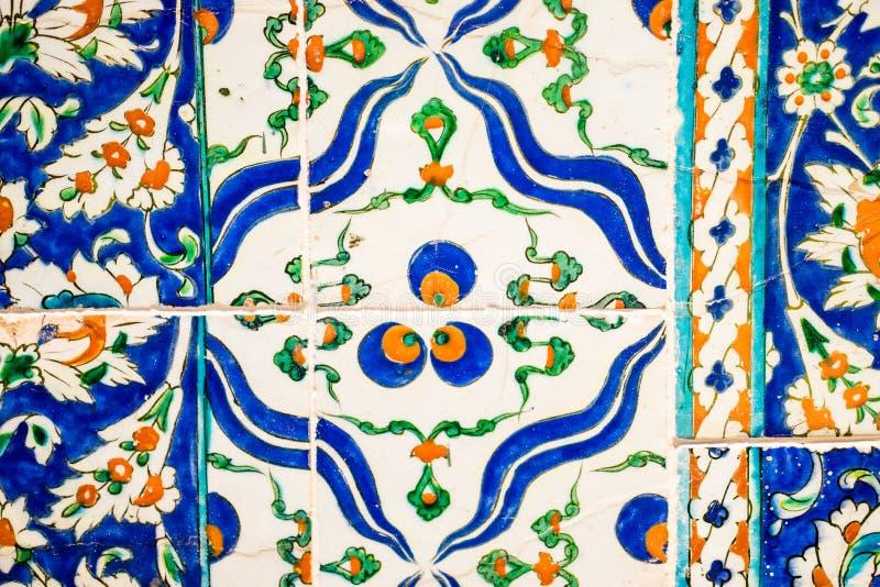 Primer de la teja ornamental imagen de archivo libre de regalías