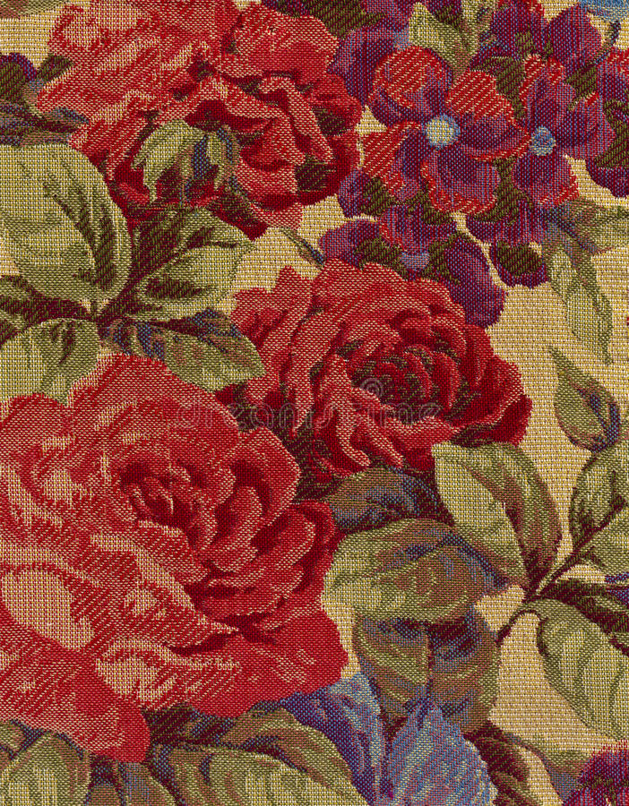 Primer de la tela de la tapicería. foto de archivo