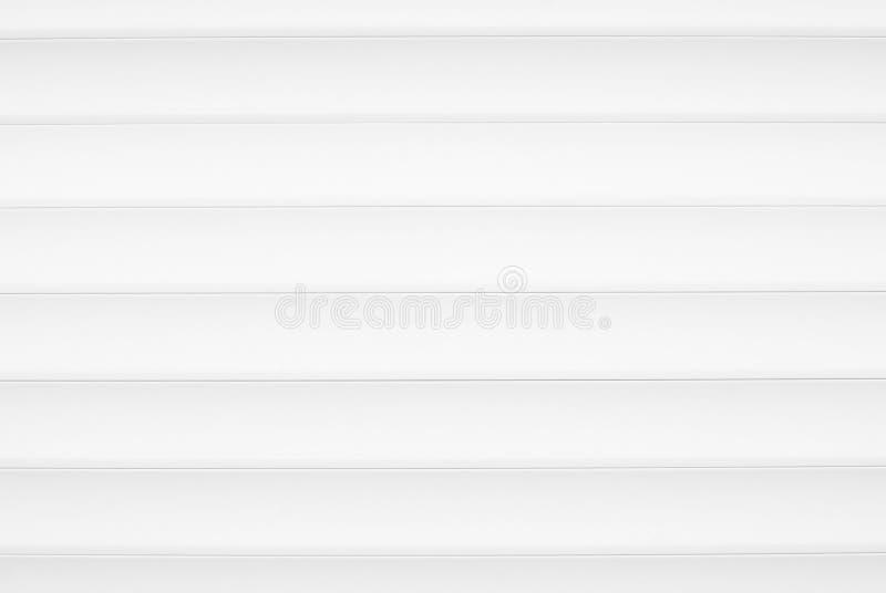 Primer de las persianas de aluminio blancas ilustración del vector