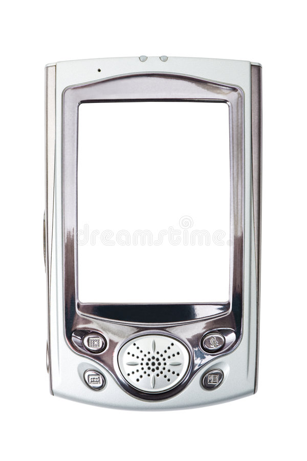 Primer de PDA foto de archivo