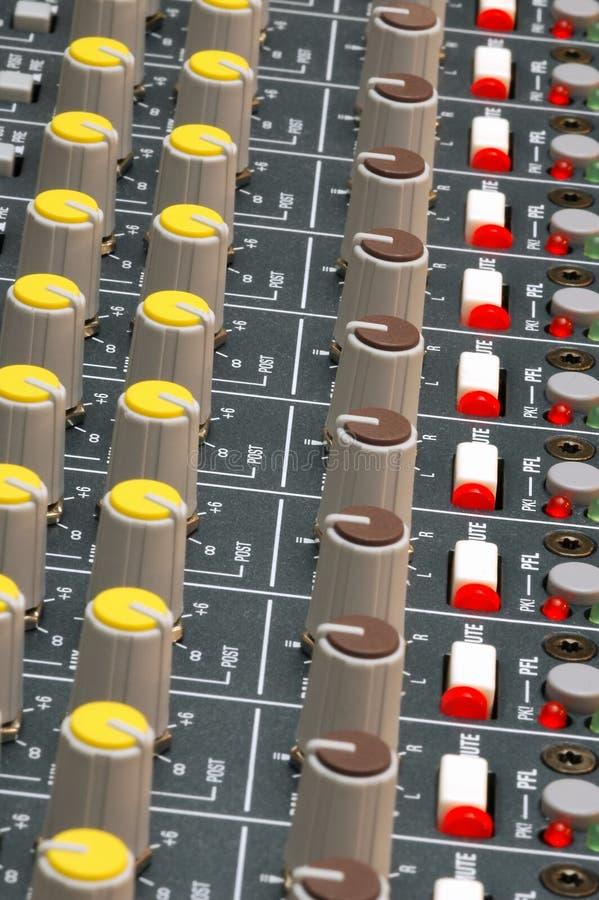 Primer de Soundboard foto de archivo libre de regalías