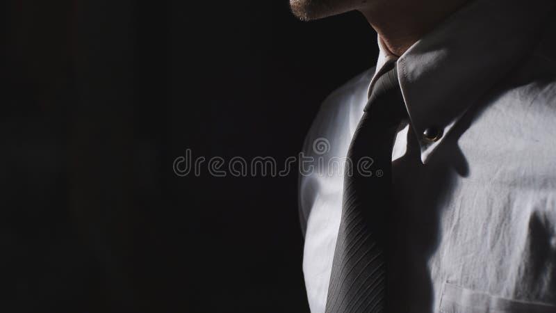 Primer de un hombre de negocios foto de archivo