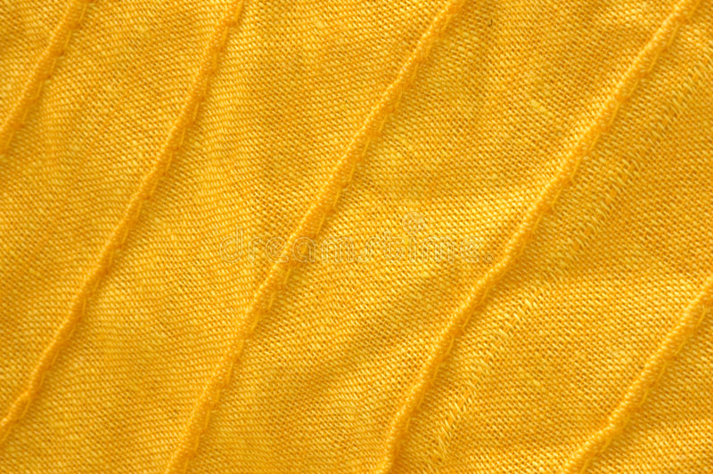 Primer del algodón orgánico amarillo fotos de archivo libres de regalías