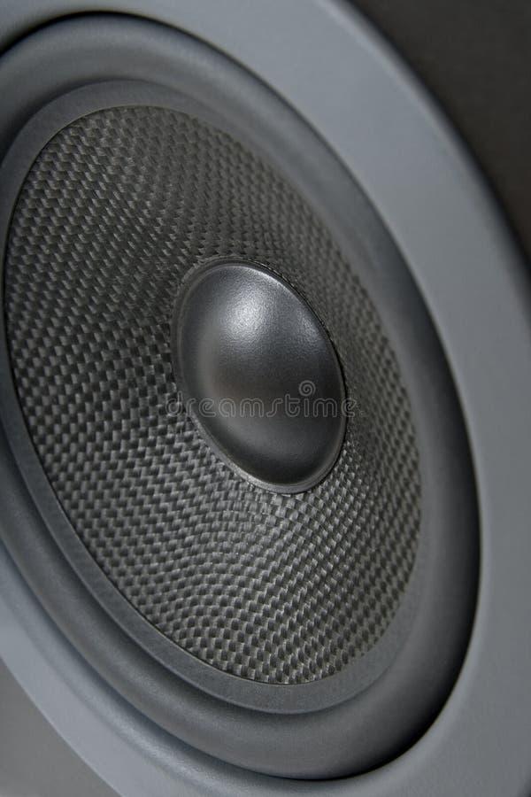 Primer del altavoz ruidoso fotos de archivo