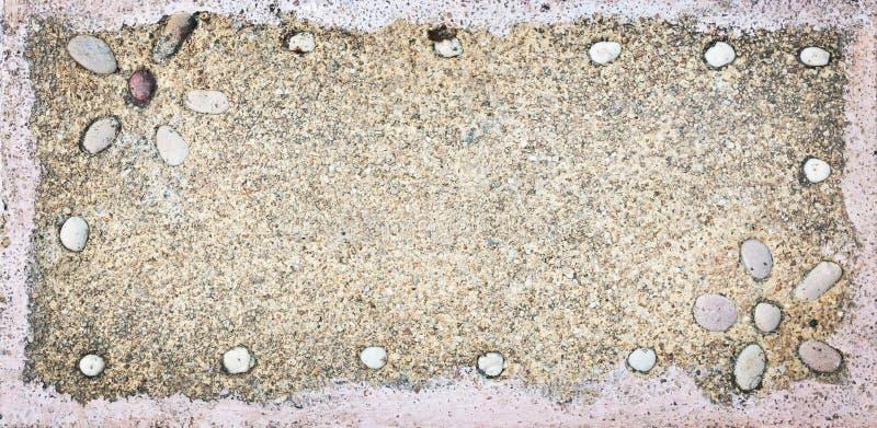 Primer del bastidor de piedra arenoso foto de archivo libre de regalías