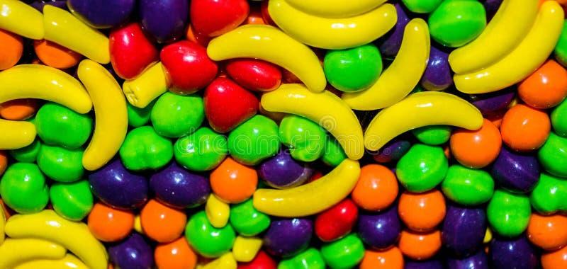Primer del caramelo en caso de que fondo fotos de archivo