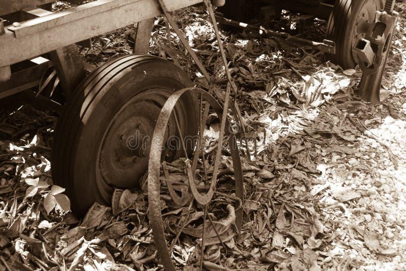 Primer del carro del vintage imagen de archivo libre de regalías