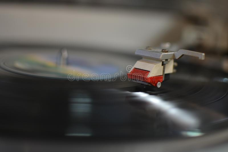 Primer del fonógrafo de la aguja del registrador imagen de archivo