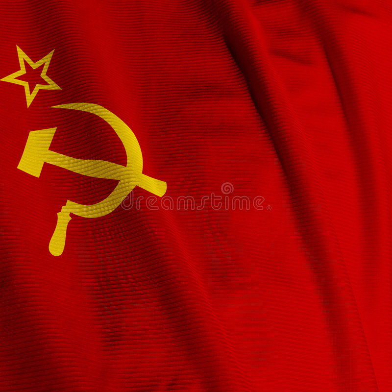 Primer del indicador de Unión Soviética foto de archivo libre de regalías